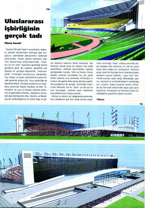 Projet du Stade d'Istanbul