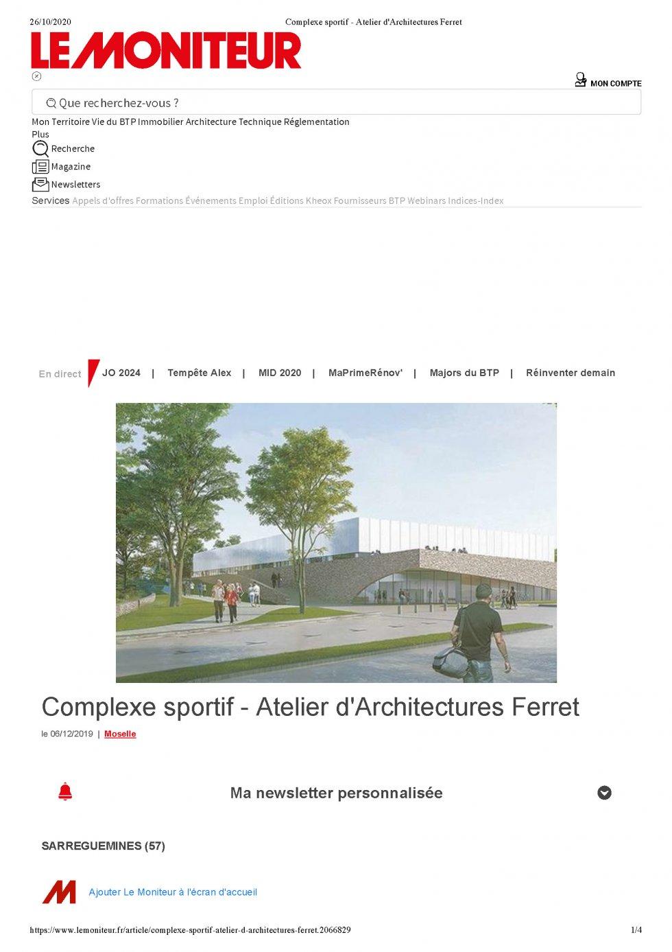 Sports Center – Sarreguemines