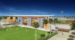 Stade de Baduel - Architecte stades / Agence architecture sport