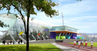 """""""Leo Lagrange"""" stadium, 2006 - Sport architecte studio"""