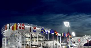 """""""Leo Lagrange"""" Stadium, 2000 - Stadium architect / Sport architecte studio"""