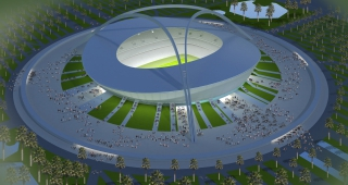 Stade de Tripoli - Architecte stades / Agence architecture sport