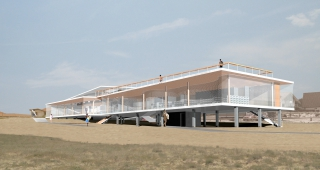 French surfing federation - Stadium architect / Sport architecte studio