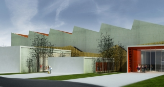 Gymnasium and playground - Stadium architect / Sport architecte studio