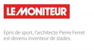 Epris de sport, l'architecte Pierre Ferret est devenu inventeur de stades - Agence architecture sport