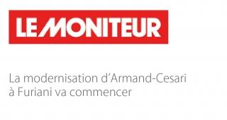 La modernisation d'Armand-Cesari, à Furiani va commencer - Agence architecture sport