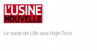 Le stade de Lille sera high-tech - Agence architecture sport