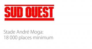 André Moga Stadium (Bègles) - Sport architecte studio