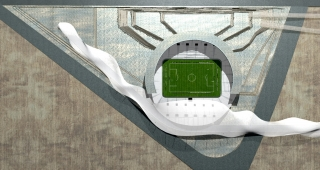 Sangam Stadium - Stadium architect / Sport architecte studio