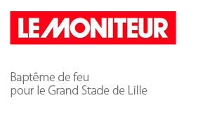 Baptême de feu pour le Grand Stade de Lille - Agence architecture sport