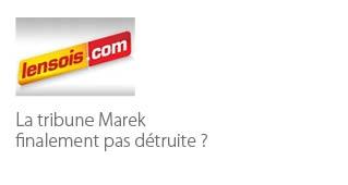 La tribune Marek, finalement pas détruite ? - Agence architecture sport