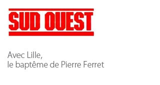 Avec Lille, le baptême de Pierre Ferret - Agence architecture sport