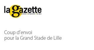 Coup d'envoi pour le Grand Stade de Lille - Agence architecture sport