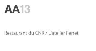 Restaurant du CNR / L'Atelier Ferret - Agence architecture sport