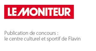 Centre culturel et sportif de Flavin - Agence architecture sport