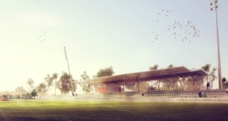Sports, cultural and housing facilities architecture studio : Sport landscape and housing