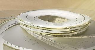 Spiral stadium - Stadium architect / Sport architecte studio