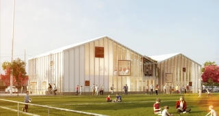 Sport and Culture center - Stadium architect / Sport architecte studio