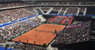Davis Cup at the Pierre Mauroy Stadium - Stadium architect / Sport architecte studio