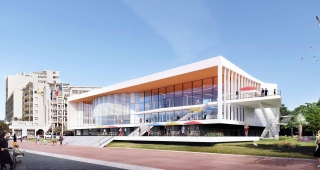Sports, cultural and housing facilities architecture studio : Congress Palace of Royan