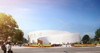 Sports, cultural and housing facilities architecture studio : New arena of Perpignan