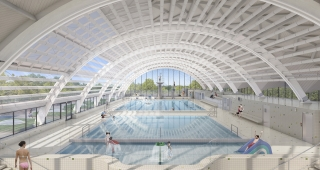 Restructuring of the Galin swimming pool - Stadium architect / Sport architecte studio