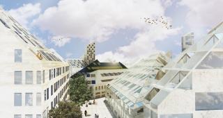 Sports, cultural and housing facilities architecture studio : (Français) Bastide Niel – Ilot B138-2