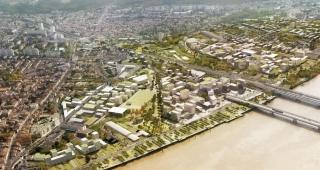 Sports, cultural and housing facilities architecture studio : (Français) Belvédère � Ilot EB2A_A