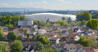"Sports, cultural and housing facilities architecture studio : ""Beaublanc"" stadium"