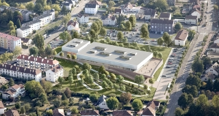 Sports, cultural and housing facilities architecture studio : Atelier Ferret Lauréat!