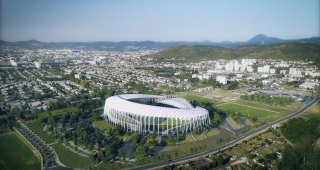 Sports, cultural and housing facilities architecture studio : Stadium Gabriel Montpied