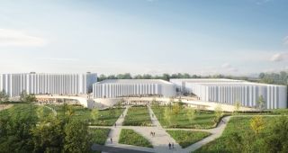 Sports, cultural and housing facilities architecture studio : Sports and Cultural Center in Sables d'Olonne