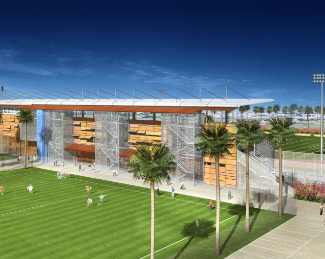 Stade de Baduel - Agence architecture sport