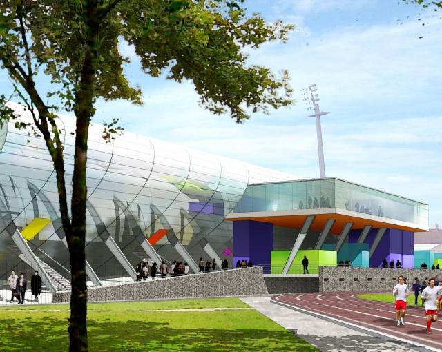 Stade Leo Lagrange 2006 - Agence architecture sport