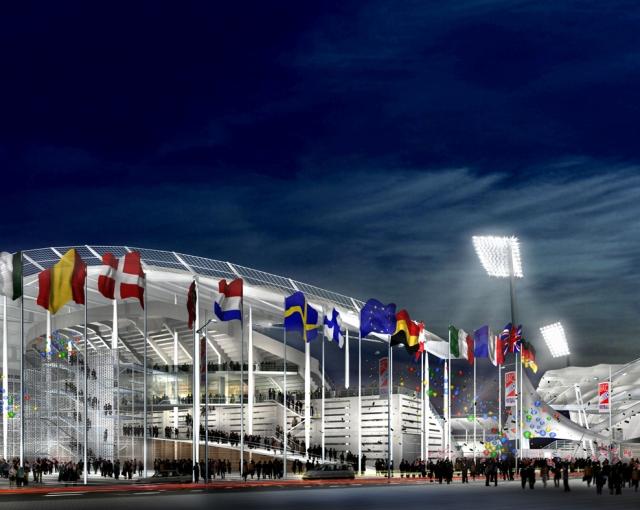 """""""Leo Lagrange"""" Stadium, 2000 - Sport architecte studio"""
