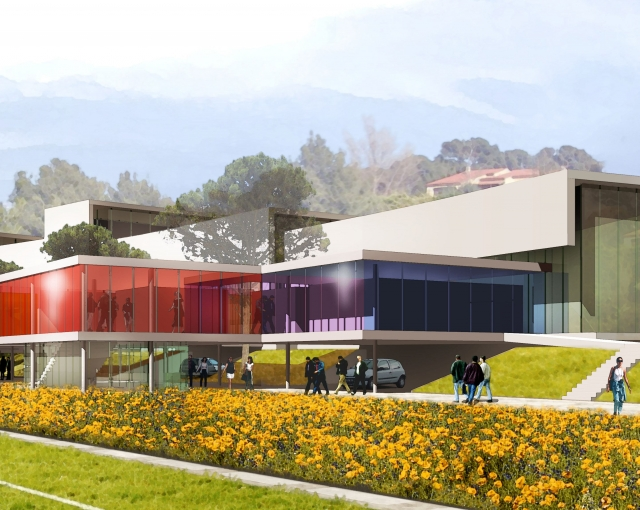 Salle de sport du stade Léry - Agence architecture sport