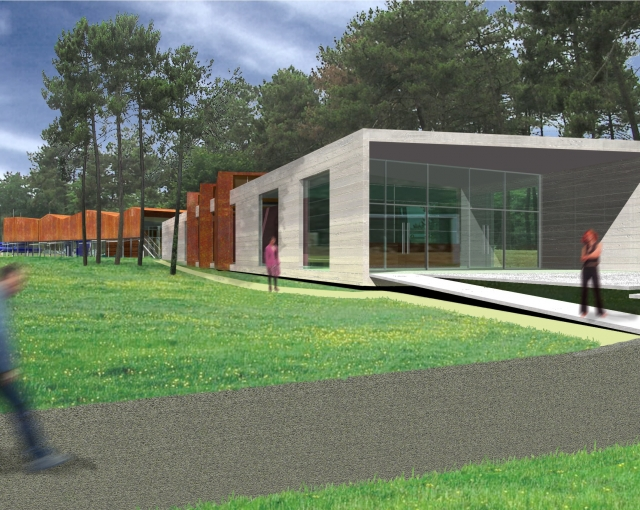 Piscine couverte - Agence architecture sport