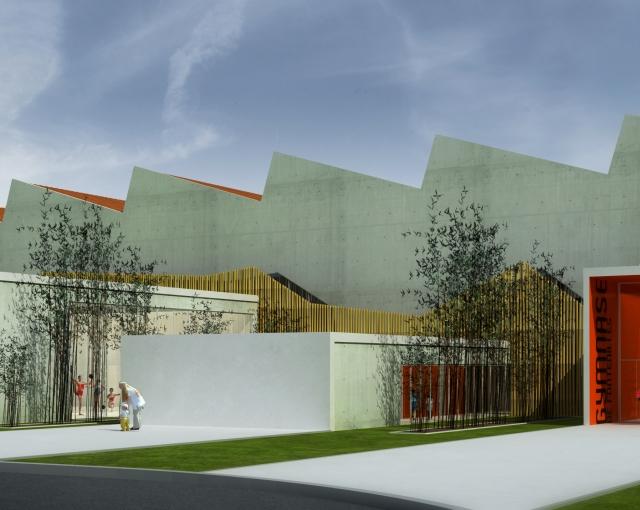 Gymnase et terrain de jeux - Agence architecture sport