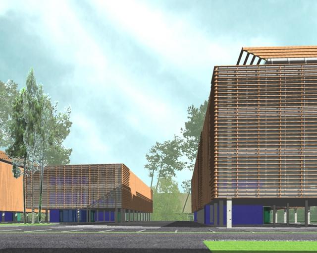 Office Bersol Castle - Sport architecte studio