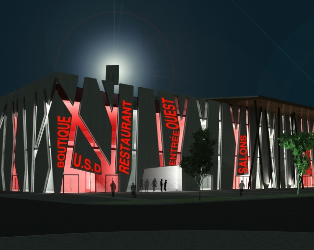 """Maurice Boyau"" Stadium - Sport architecte studio"