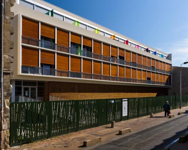 Résidence CROUS - Agence architecture sport