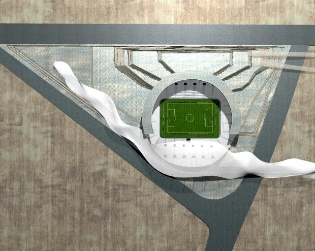 Sangam Stadium - Sport architecte studio