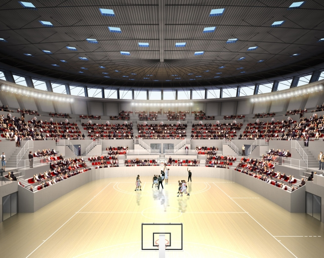 bordeaux palais des sports 2 800 basket pro a b