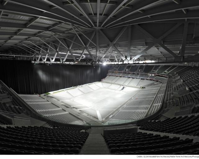 L'ouverture de la boîte à spectacles - Agence architecture équipements sportifs, culturels et logements