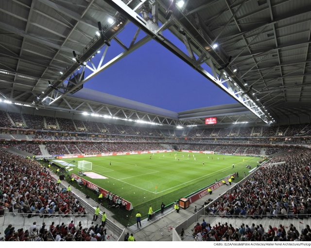 Lille Stadium's opening match ! - Sports, cultural and housing facilities architecture studio