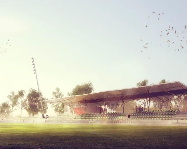 Paysage sportif et habité - Agence architecture sport