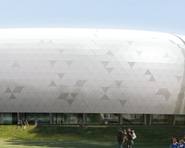 Construction of Limoges stadium - Sports, cultural and housing facilities architecture studio