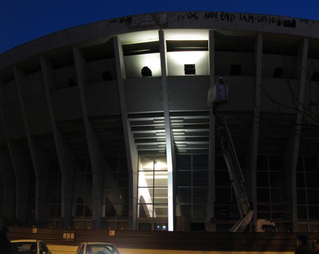 Premiers essais lumière - Agence architecture équipements sportifs, culturels et logements