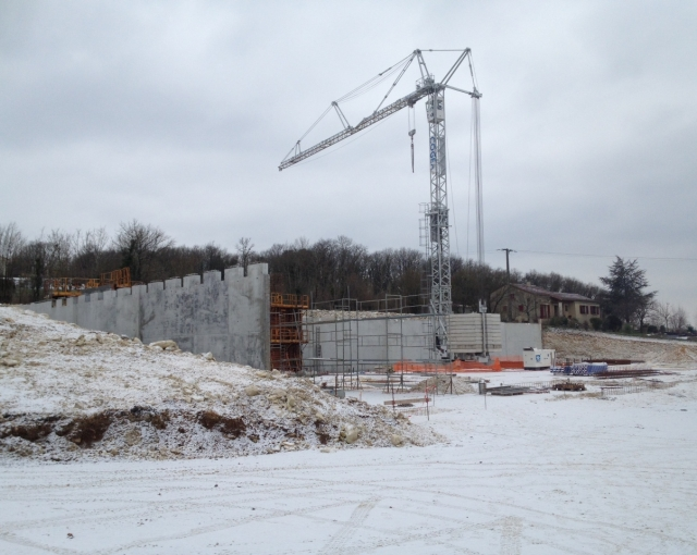 It 's snowing on our construction sites ! - Sports, cultural and housing facilities architecture studio
