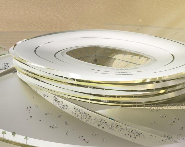Spiral stadium - Sport architecte studio